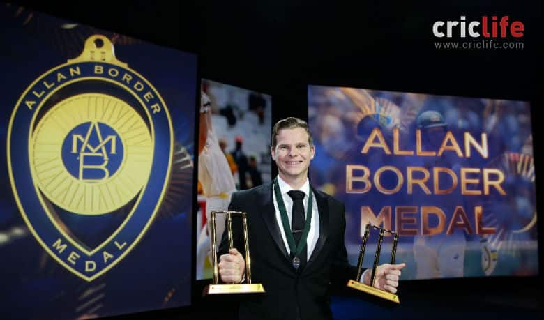 Allan Border Medal: Steve Smith Sweeps Top Australian Awards And Allan Border