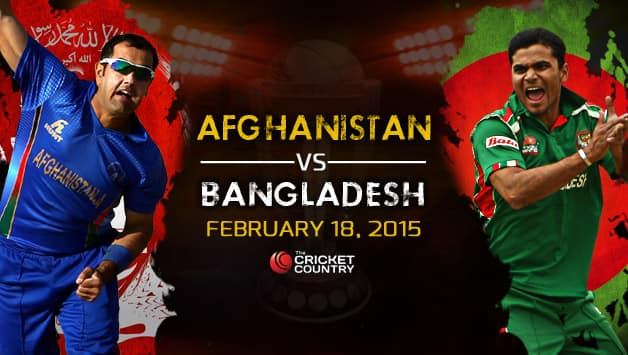 Afghanistan >> Bangladesh vs Afghanistan ICC Cricket World Cup 2015 at Canberra, Preview: Bangla Tigers should ...