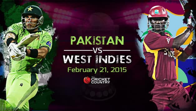 Pakistan Vs West Indies World Cup 2015