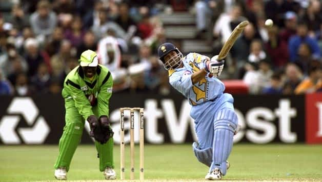 Sachin Tendulkar's 140 was © Getty Images