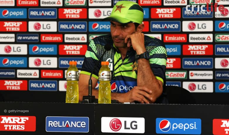 Misbah-ul-Haq: Our team is under pressure