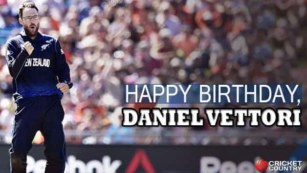 Daniel Vettori turns 38 today! © Getty Images