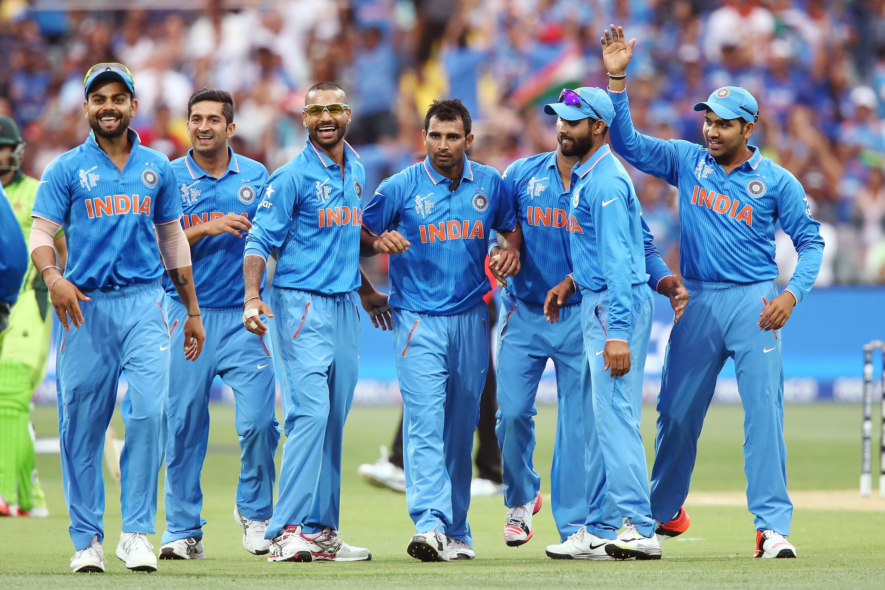 Indian Cricket Team: ICC Cricket World Cup 2015: India Make The Long Travel