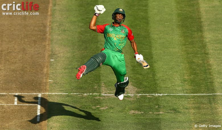 ICC Cricket World Cup 2015: Two in a row for Bangladesh's Mahmudullah