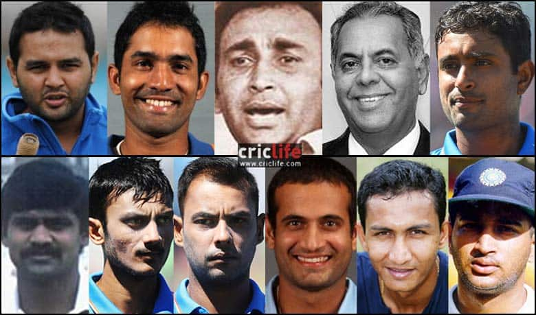 A Xi Comprising Indian Players Who Were Part Of World Cup Squads But Never Played A Single Match Cricket Country