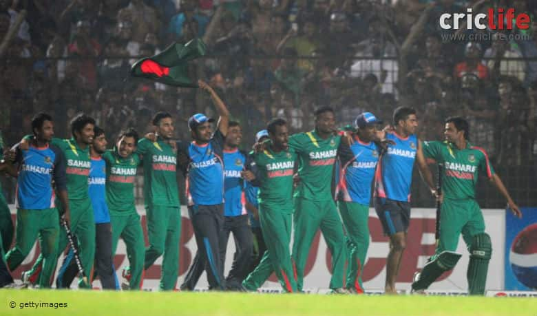 ICC Cricket World Cup 2015: New Zealand vs Bangladesh in ODIs in this decade (2010-15)