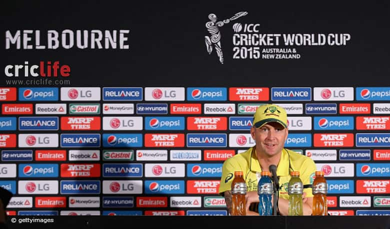Michael Clarke: I think our bowlers have won us the World Cup