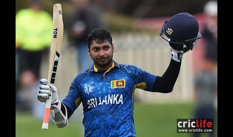 Kumar Sangakkara becomes the first batsman in the history of ODI cricket to score four hundred in a row