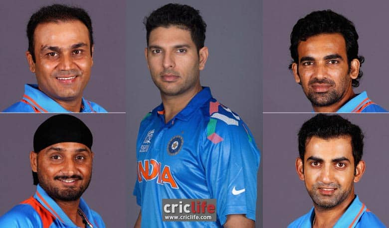Would Yuvraj, Sehwag, Zaheer, Harbhajan and Gambhir have made a difference to Team India?