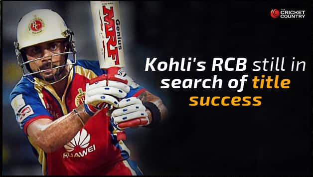 Virat Kohli will want to step up and help RCB win the title in IPL 2015 © Getty Images