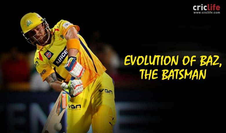 Brendon McCullum: The evolution from a lower-order bat to a dexterous top-order destroyer