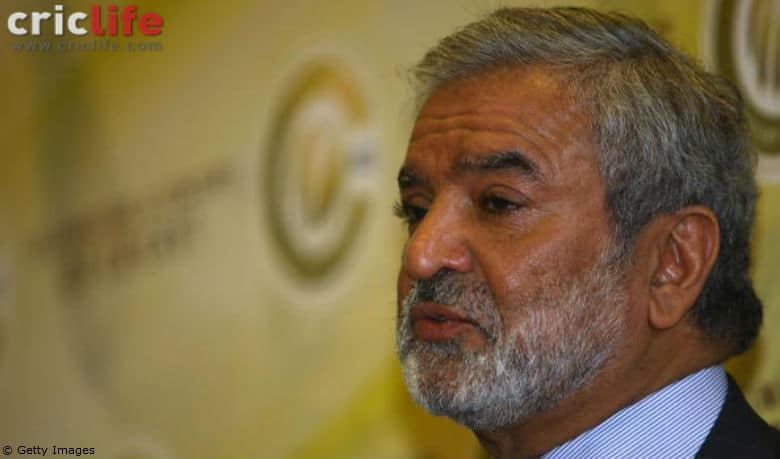 Ehsan Mani: I am very concerned about the state of the game