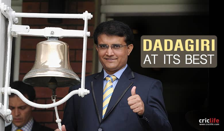 13 anecdotes that exemplify Sourav Ganguly as witty, quick-thinking and master of ripostes