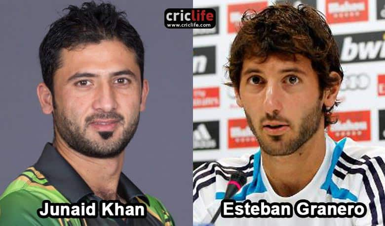 Junaid Khan and Esteban Granero