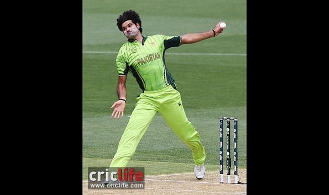 Mohammad Irfan bowled with pace and accuracy to help Pakistan to their first win in the tournament