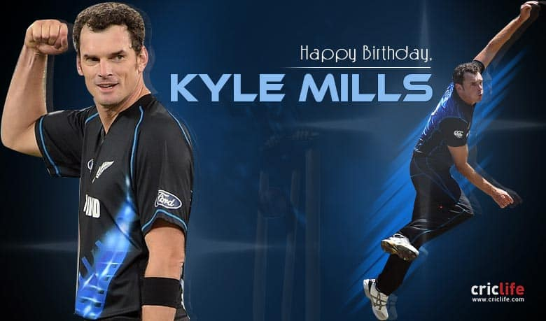 12 little-known facts about Kyle Mills
