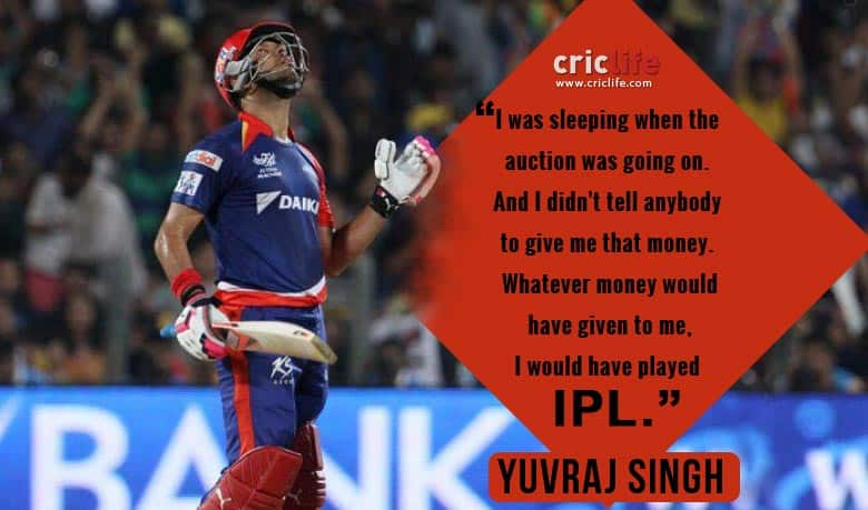 Yuvraj Singh: I never asked for Rs 16 crores