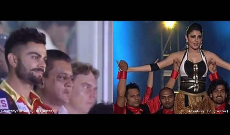 IPL 2015 Opening Ceremony: Glitzy affair at Salt Lake Stadium; Virat Kohli seen enjoying Anushka Sharma's performance