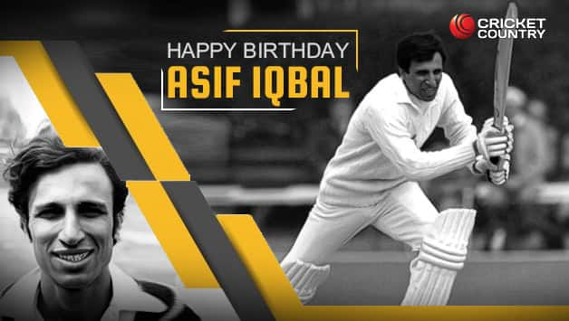 Asif Iqbal was born in Hyderabad, India © Getty Images
