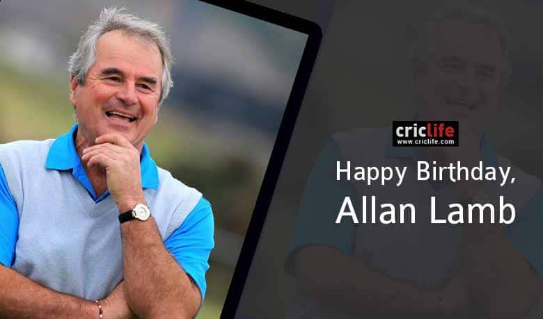 Allan Lamb: 12 facts about the South Africa-born England batsman
