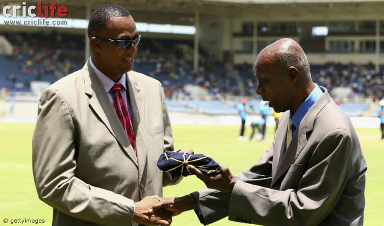 Wes Hall inducted into ICC Cricket Hall of Fame