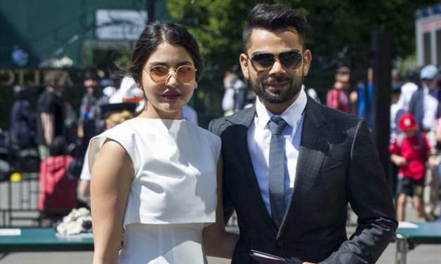 Indian Cricketer Virat Kohli and Anushka Sharma in London Enjoying Shopping