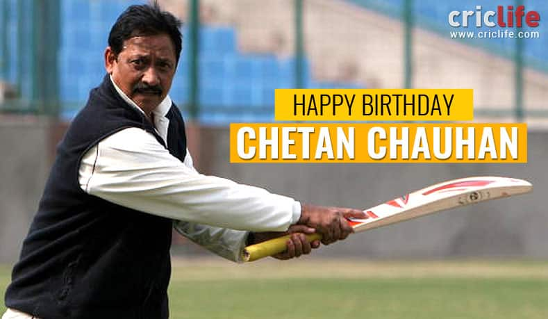 Chetan Chauhan: 14 facts to know about the former India opener