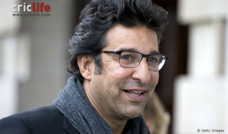 Wasim Akram appeals to step up and contribute towards society