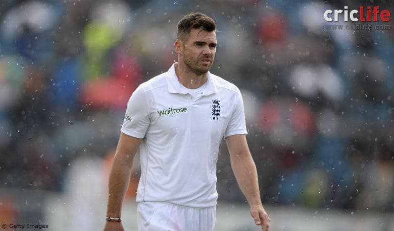 James Anderson's parched run hurting England