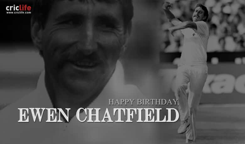Ewen Chatfield: 12 interesting facts about the Kiwi who cheated death on Test debut