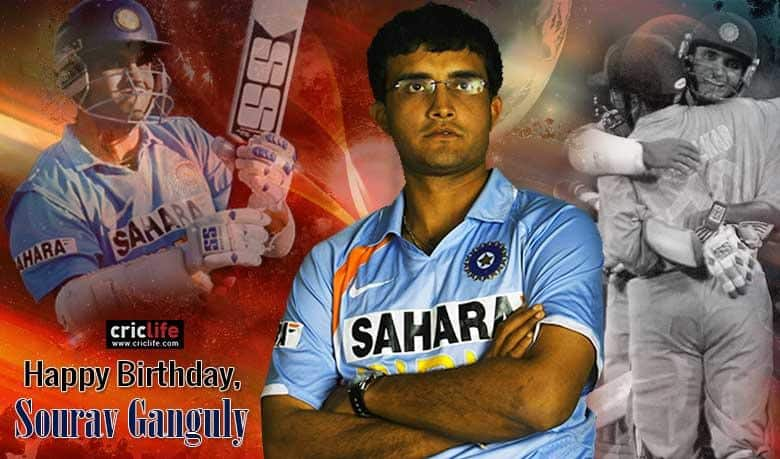 Sourav Ganguly turns 43: Twitter reactions