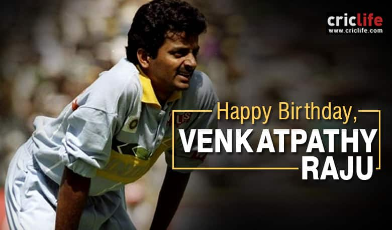 Venkatapathy Raju: 12 facts about the pencil-thin spinner who was mockingly nicknamed 'Muscles'