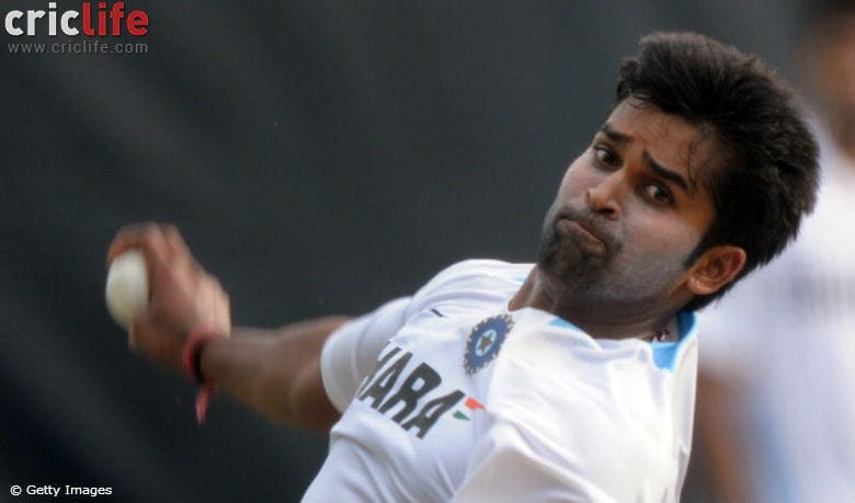 Vinay Kumar does a David Beckham; tattoos wife's name on his forearm