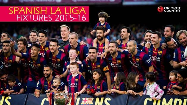 Spanish la liga complete fixture 2015 16 season cricket country - Spanish league point table ...