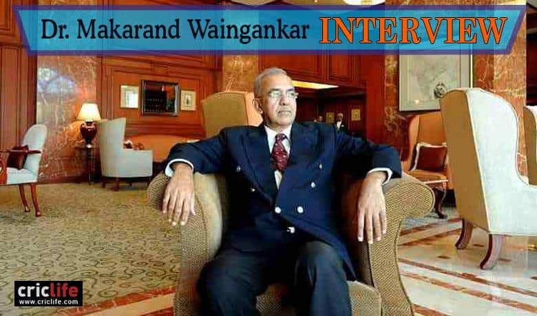 Makarand Waingankar: A man who has served Indian cricket for decades with rare intensity and passion