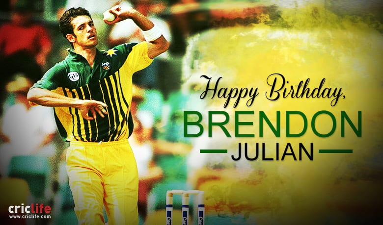Brendon Julian: 17 facts about the Australian all-rounder