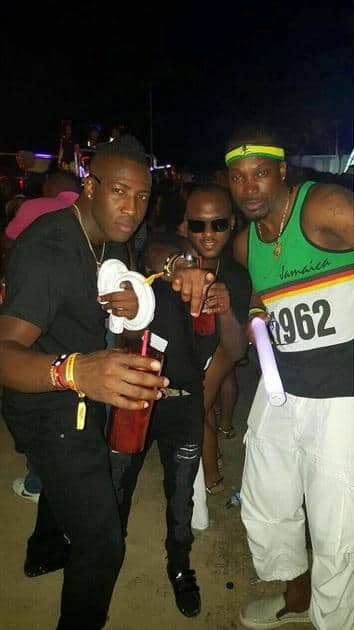 Reggae rights reserved: Chris Gayle in the house