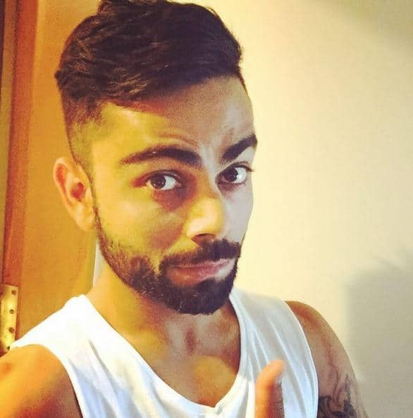 Will Virat Kohlis Change Of Hairstyle Bring A Change Of Luck