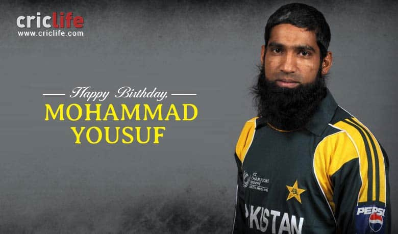 Mohammad Yousuf: 15 interesting facts about the great Pakistani batsman