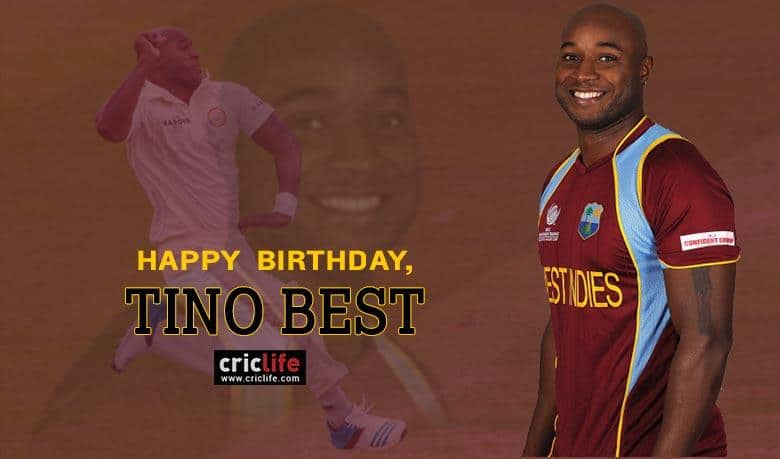 Tino Best: 12 interesting facts about the West Indian pacer