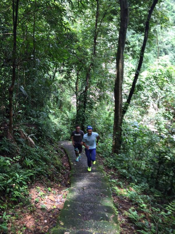 Gone in 90 minutes! Unmukt Chand treks at Cherrapunji