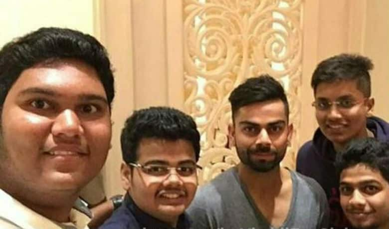 Virat Kohli shows how to win the hearts of his fans