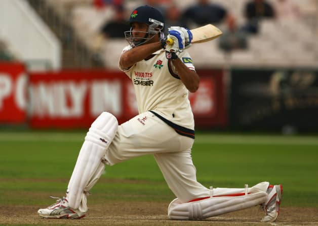 It never mattered whether it was the India colours or the Red Roses: VVS Laxman always gave it his all © Getty Images