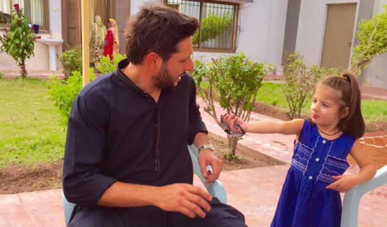 Shahid Afridi Spends Quality Time With His Family