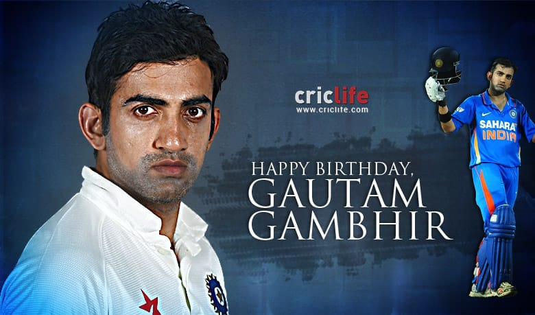 Gautam Gambhir: 18 facts about Indian batsman who excelled when it mattered the most