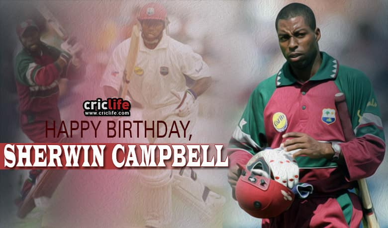 Sherwin Campbell: 9 Interesting facts about the former West Indies opener