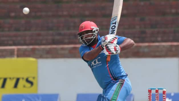 Mohammad Shahzad played a measured, sensible knock © AFP