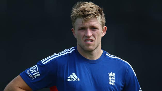 David Willey impressed in the limited opportunities that he got © Getty Images