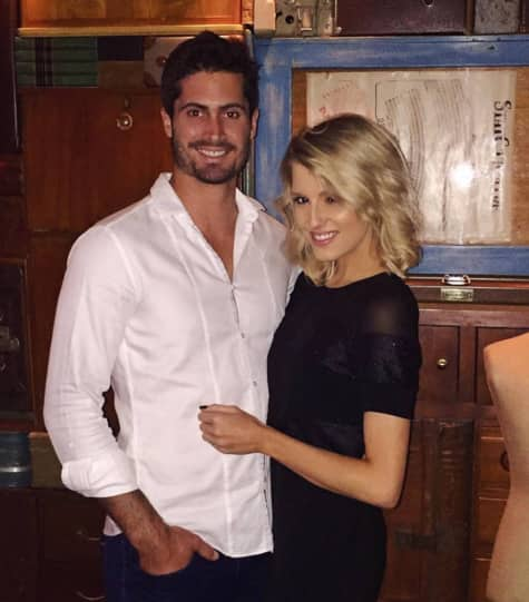 Erin Holland opens up on her long distance romance with cricketer Ben Cutting