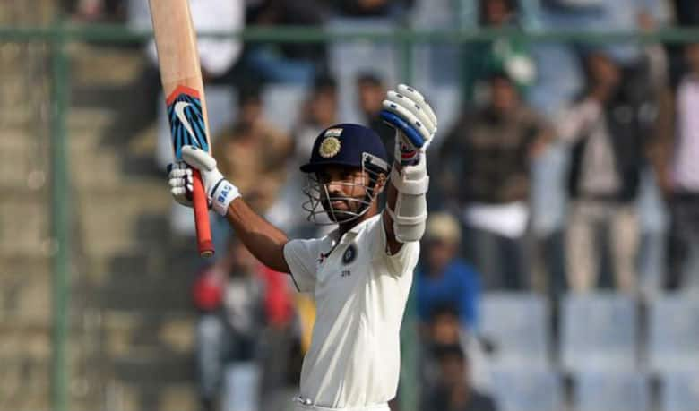 Cricket fraternity applauds Ajinkya Rahane on Twitter for his twin-tons in the Delhi Test